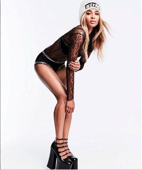 Ciara Slick on Fleek for Glamour Magazine