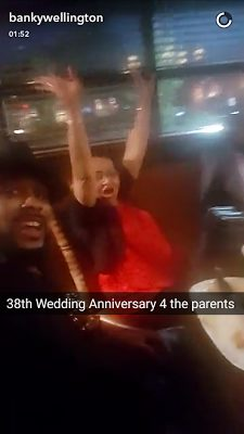 EME CEO Banky W Celebrates his Parent's 38th Year Wedding Anniversary