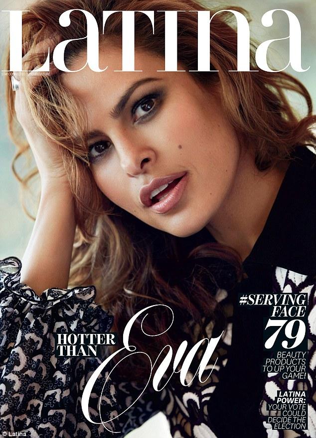 Eva Mendes Covers Latina Magazine September Issue