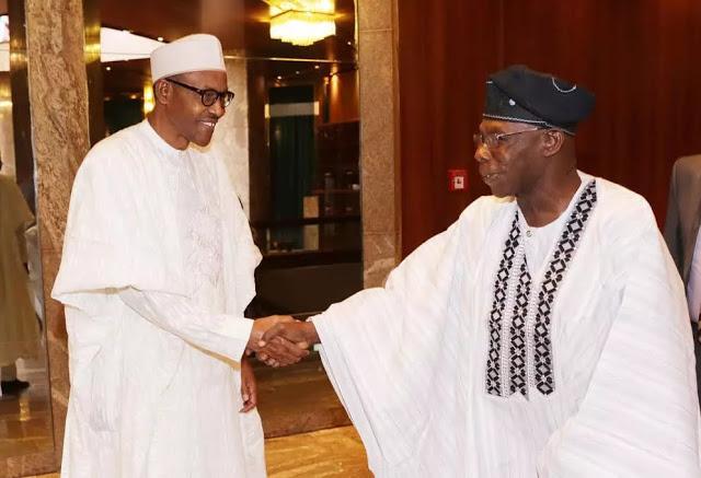 Former Nigerian President Olusegun Obasanjo says Buhari had not not disappointed us