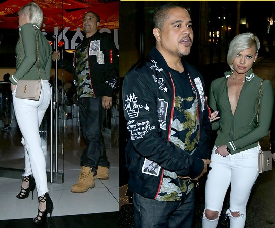 Ashley Martelle  gives Head to Irv Gotti