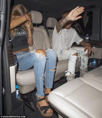Justin Bieber Parties Hard with Strange Blonde Girl at Tape Nightclub in London