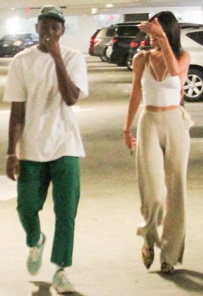Kendall Jenner goes out to lunch with Rapper Tyler The Creator
