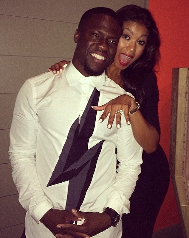 Kevin Hart gets married to model Eniko Parrish in elegant private ceremony