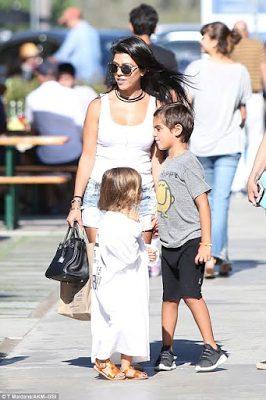 Kourtney Kardashian Takes Mason And Penelope Toy Shopping Spree at  Malibu Country Mart in Malibu, California