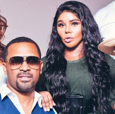Lil Kim lovely in New photos with Mike Epp