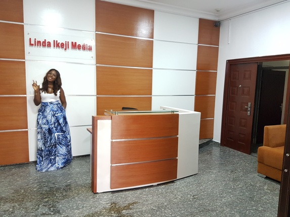 Linda Ikeji Finally Reveals Details about her New Office Building