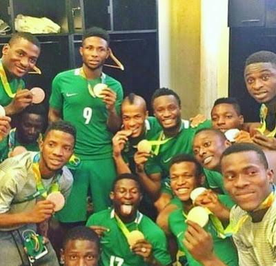 Nigeria U-23 Team Defeat Honduras U-23 Team to Claim Bronze at Rio Olympic 2016