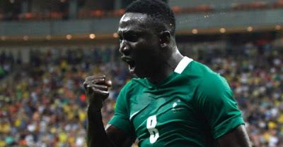 Nigerian U-23 Beat Japan U-23 5-4 in their group B first match encounter at the 2016 Rio Olympics