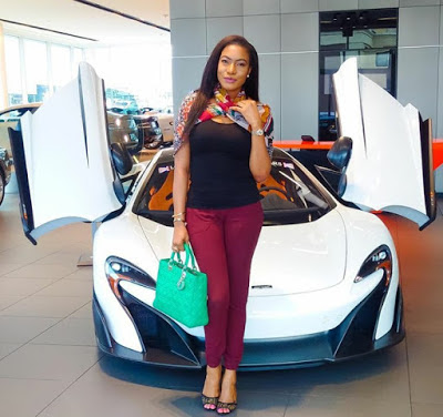 Nollywood Actress Chika Ike lovely in New  Photos from her New York Vacation