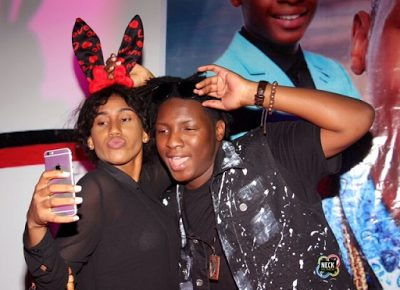 Official Photos from Omotola's Son Captain E's 18th Birthday Party