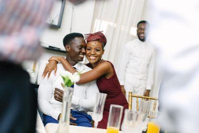 Official Photos from the Court Wedding of Tinsel Actress Tomi Odunsi and Seun Fadina