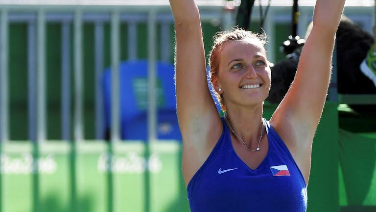 PETRA KVITOVA Defeats MADISON KEYS in THREE-SET to claim BRONZE MEDAL IN RIO