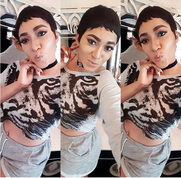 Rukky Sanda Ditches her Long Hair Weaves to show off New Look