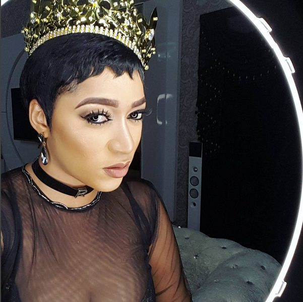Rukky Sandra Turns 32 Year Old as she rocks a Golden Crown to Celebrate
