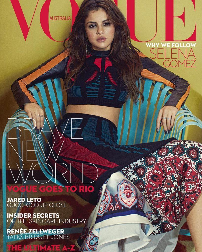 Selena Gomez Covers Vogue Magazine Australia September Issue