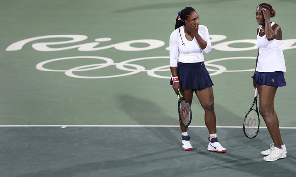 Serena And Venus Williams defeated for the First time at the Olympic
