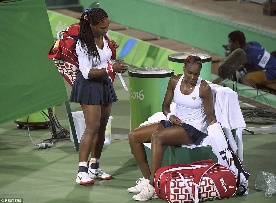 Serena And Venus Williams at rio 2016