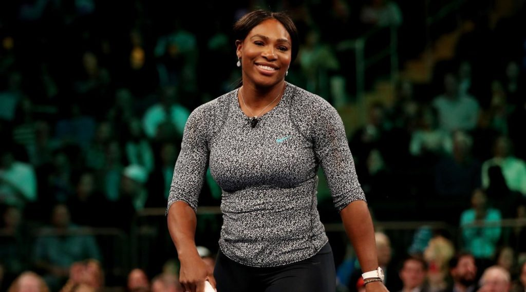 Serena Williams Celebrates Reaching 4 million Followers on instagram with a Dance