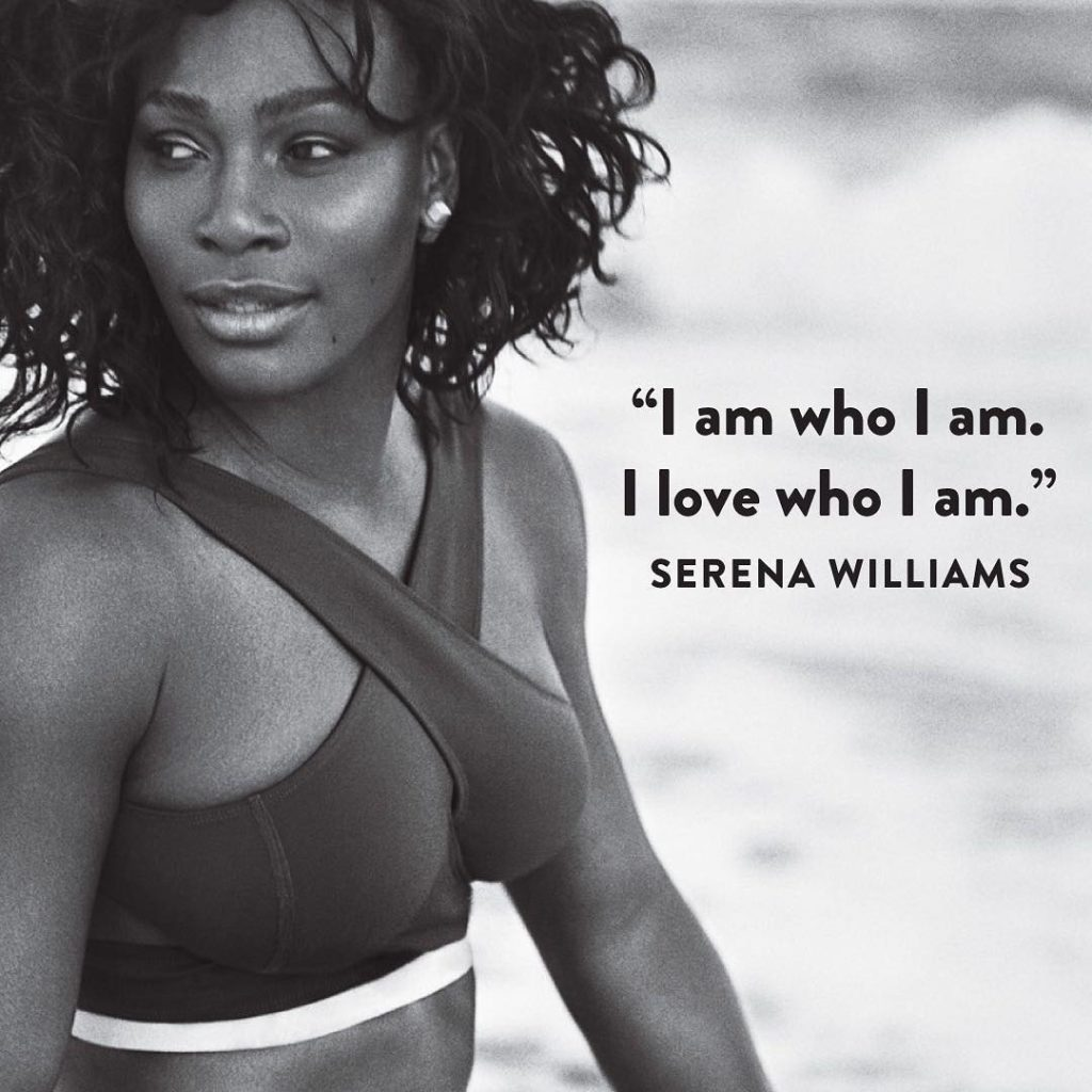 Serena Williams Growing Stronger as she Covers Self Magazine September Issue