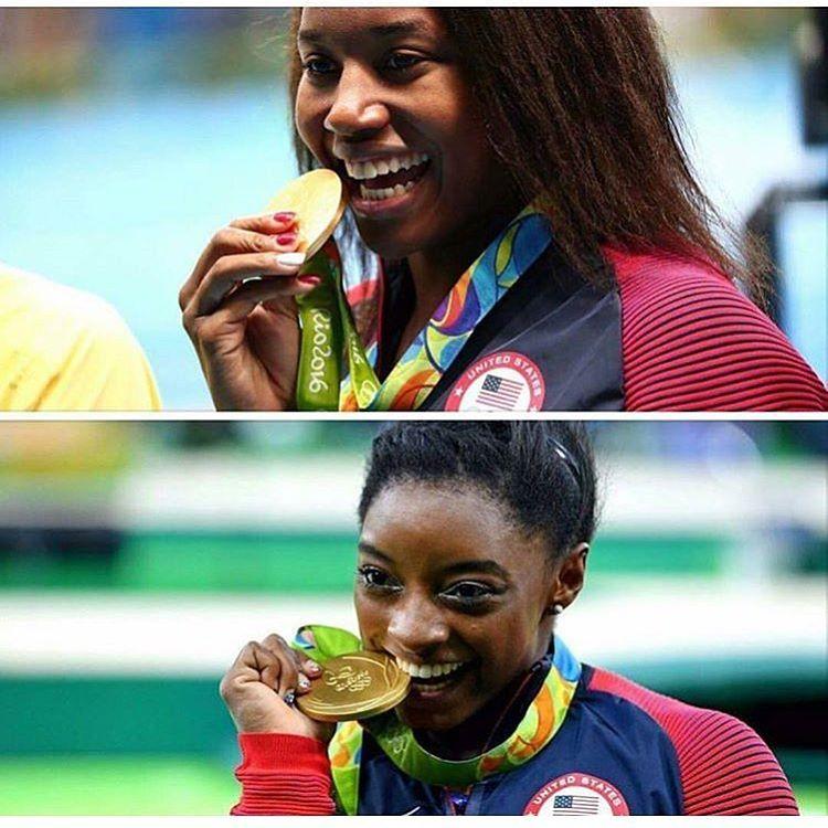 Serena Williams Pays Tribute to Simone Manuel and Simone Biles