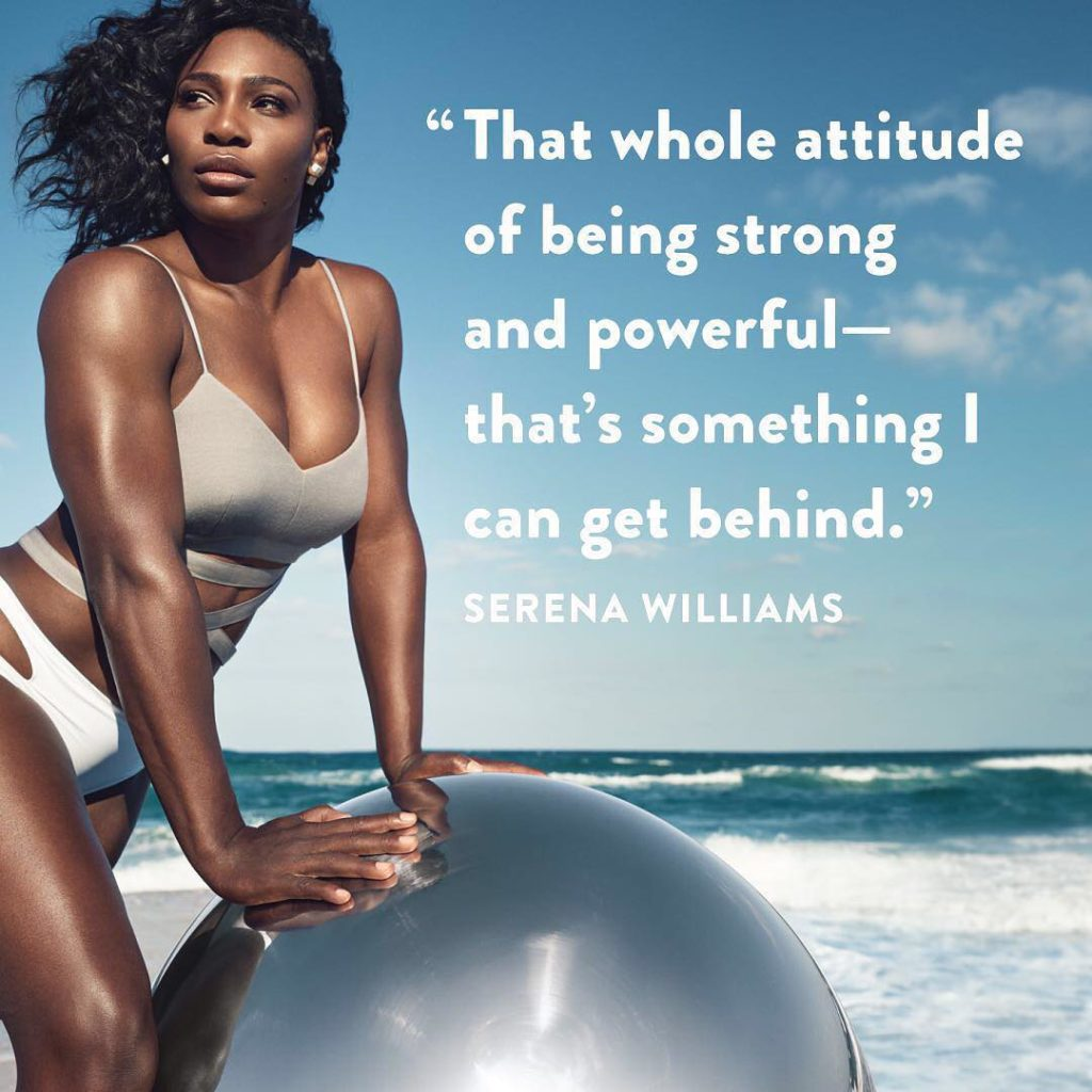 Serena Williams Shares Inspirational Photo