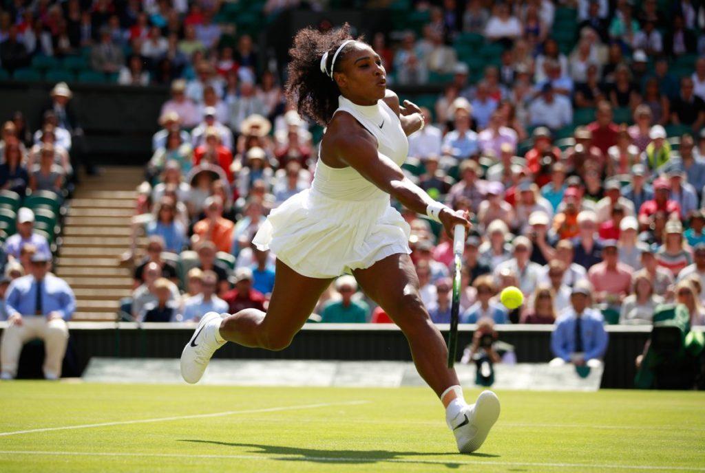 Serena Williams Sexy Hot in Berlei Sport Bra as she annouces its arrival in the U.S