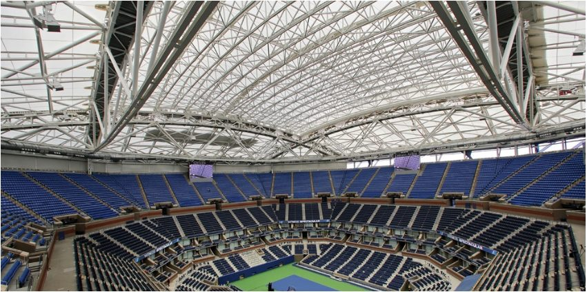 Tennis Players to Experience US Open Roof for the First Time