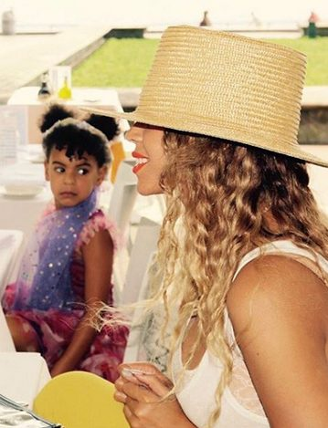 That Facial Expression on Blue Ivy Though
