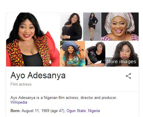 Wikipedia says Ayo Adesanya is 47 year old but she just turned 46