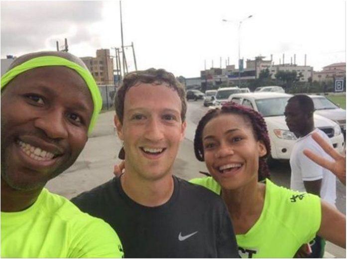 World 7th Richest man, Mark Zuckerberg continues his Jogging routine in Nigeria with his team on Lekki-Ikoyi Bridge,Lagos