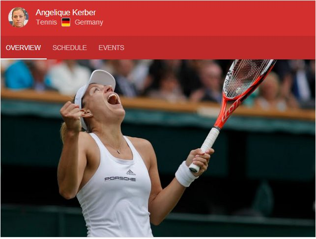 Angelique Kerber reaches Rio Olympic Final