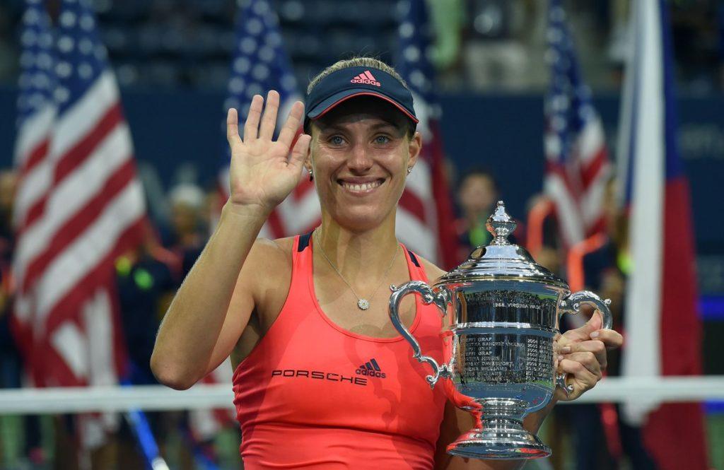 Angelique Kerber Wins US Open 2016,Defeating Karolina Pliskova 6-3,4-6,6-4