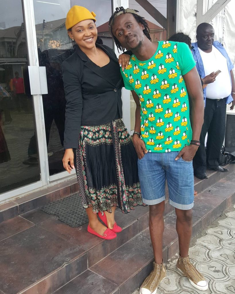 Mercy Aigbe Goes make Up Free in #200 million Movie Shoot