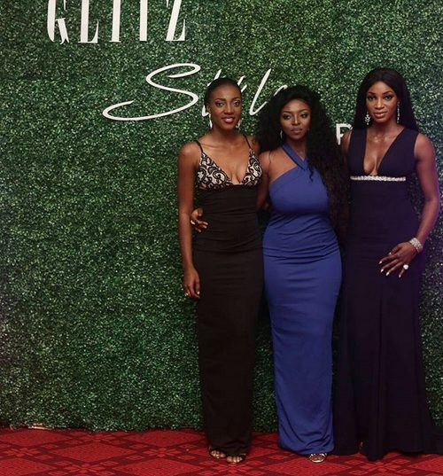 Nigerian Celebrities such as Waje, Yvonne Okoro, Van Vicker & Others Slay on the Red at Glitz Awards 2016