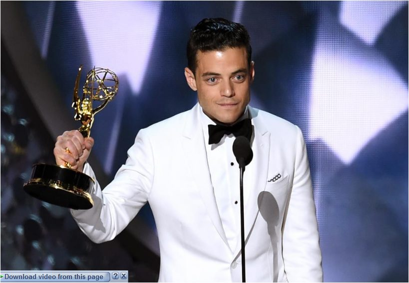 Rami Maliek Wins Best Actor in a Drama Series at the 68th Emmy Awards 2016