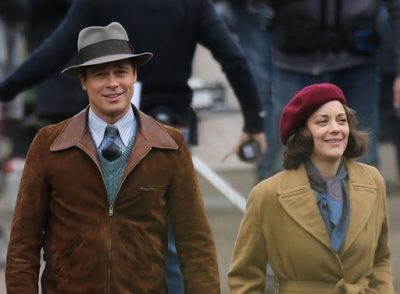 Rumors  claim Brad Pitt may have been cheating with  French co-star, Marion Cotillard