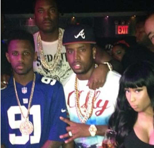 Safaree confirms The Game claims of Meek Mill facetiming Nicki Minaj while he  was with another chick