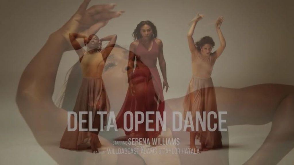 Serena Williams Twerks and Dance  in New Delta Airline Open Dance Campaign Video