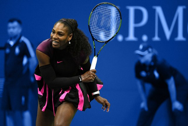 Serena Williams at the US Open 2016