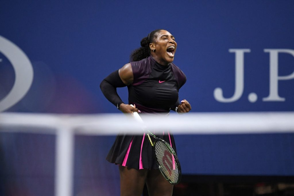 Serena Williams Emotional on the Night at the US Open 2016 Quarter Final