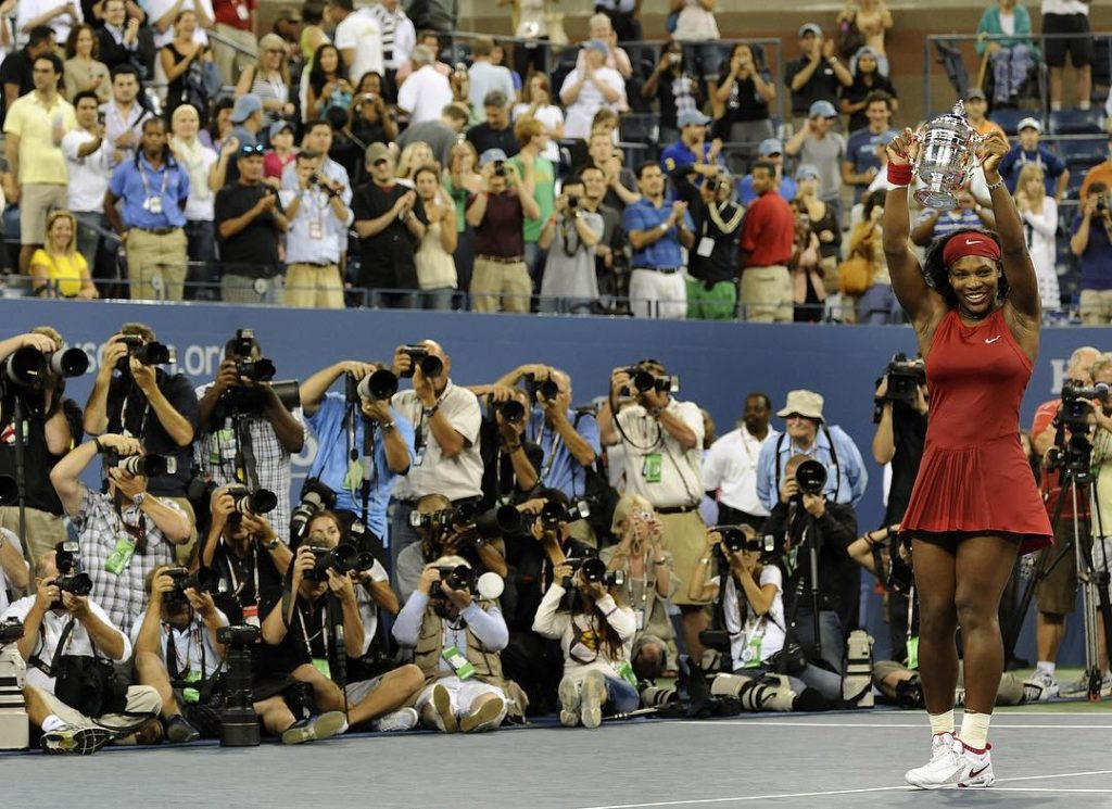 Serena Williams at the US Open 2008