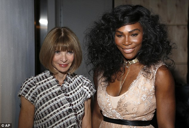 Anna Wintour  and Serena Williams at the NYFW 2016