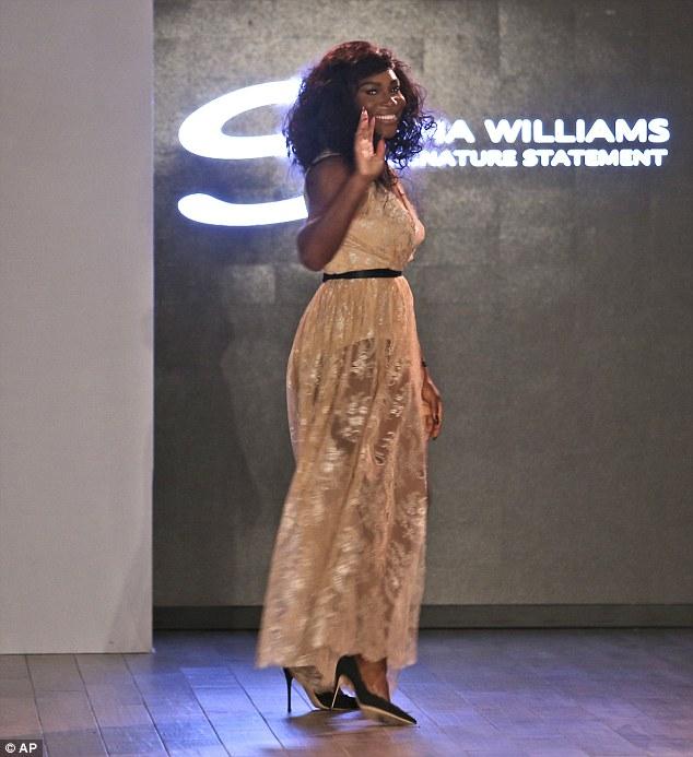 Serena Williams at the 2016 NYFW
