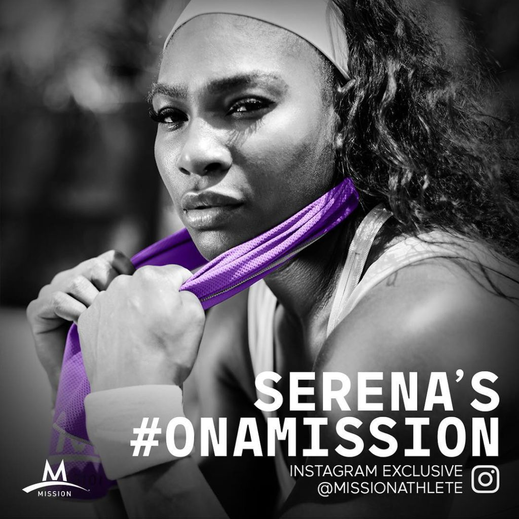 Serena Williams sizzles in New Mission athlete Photo