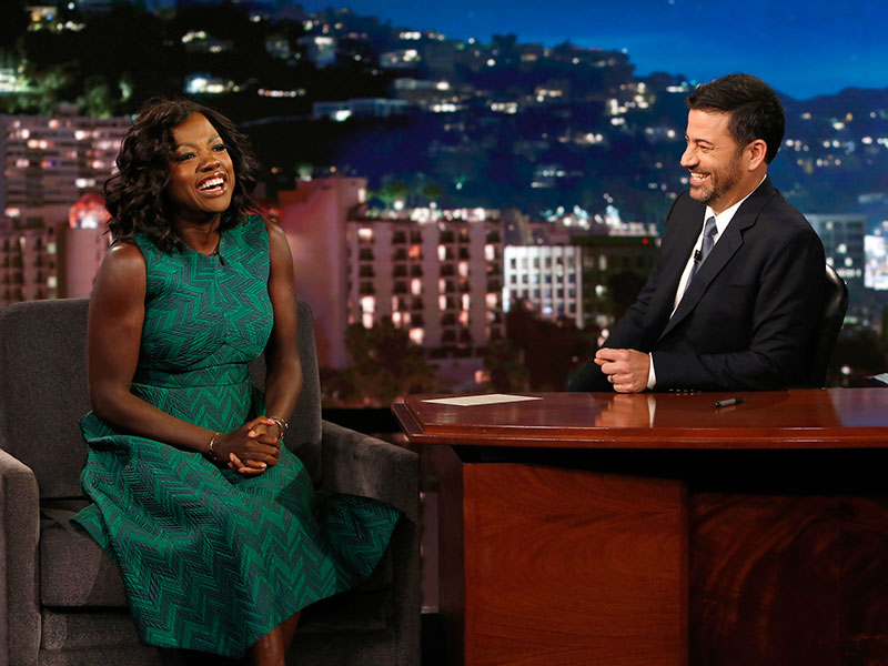 Viola Davis revealed she had  five hot flashes at the Emmy Awards 2016
