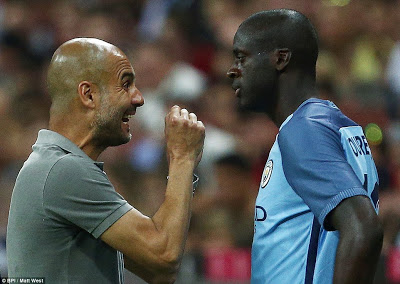 """Yaya toure's Agent Dimitri Seluk says Guardiola Feels he his a king , """"if he wants war,then he can have one"""""""