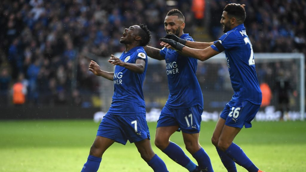 Ahmed Musa Breaks Goal Drought as he Scores his First Goal For Leicester City in a 3-1 Victory for the Foxes Team