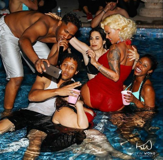 Amber Rose Celebrates Her Birthday in Style With a Private Pool Party