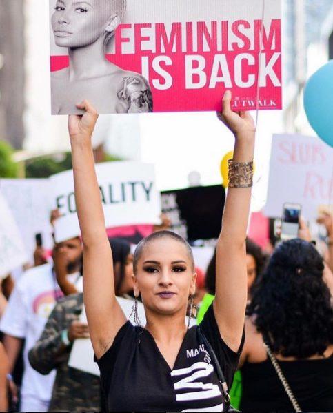 Amber Rose hits Back at Critics of Her slut walk movement, says if you don't like the slut walk movement,don't follow it